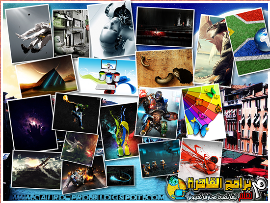 34 Creative&Graphics Wallpapers Hd مجموعة خلفيات خيالية ابداعية لسطح مكتبك