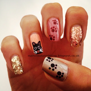 cat nails kitty