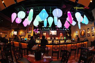 hard+rock Đèn lồng Hội An trong không gian biệt thự, nhà hàng, quán cà phê