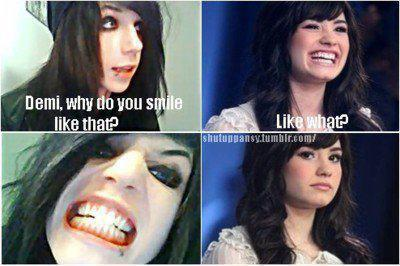 Sonrie un poco : )