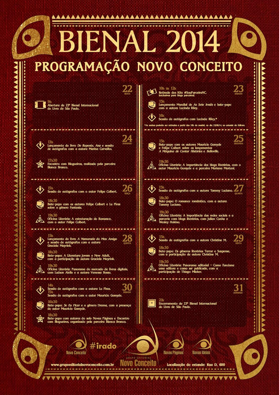 http://www.grupoeditorialnovoconceito.com.br/blog/mais-conteudo/bienal-do-livro-de-sao-paulo-um-novo-conceito-de-ser/#.U_Dof2MpeZQ