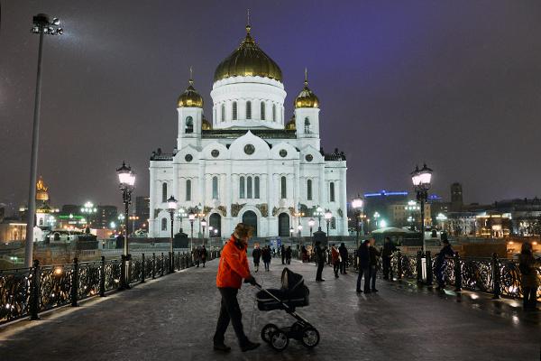 В Москве на Рождество пройдут праздничные богослужения