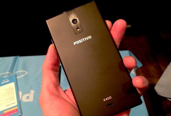 X400, um dos smartphones lançados pela Positivo