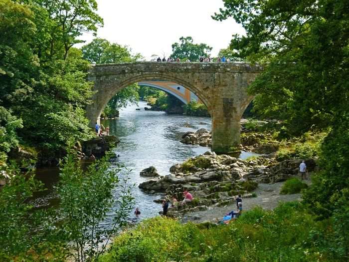 Devil's Bridge, Stanley Bridge, Kirkby Lonsdale, visit Cumbria
