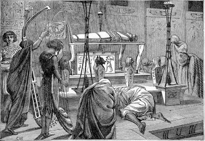 Иосифa çусем сĕрсе тирпейлеççĕ