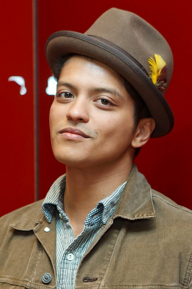 Bruno Mars  Galaxy Note HD Wallpaper