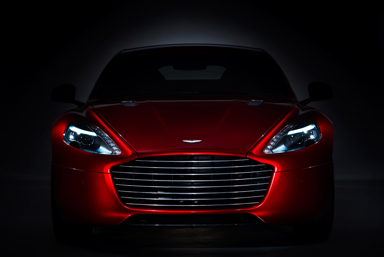 Aston Martin Rapide S Photos
