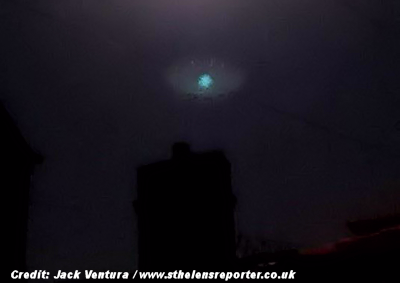UFOs Spotted in Skies Above St Helens 10-4-15