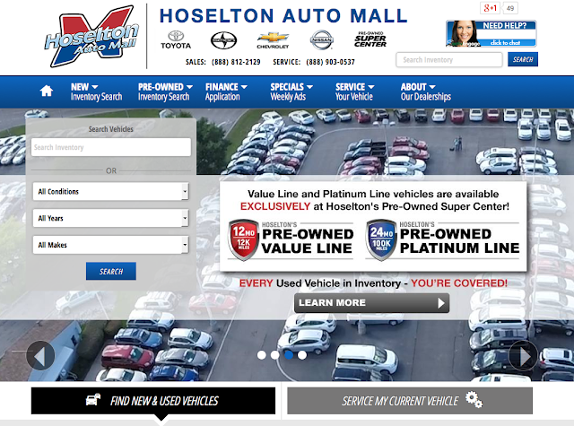The All New Hoselton.com - East Rochester, NY Auto Mall