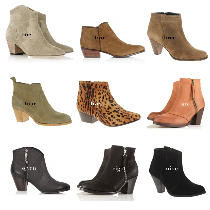 How to: the Perfect Ankle Boots | A Pair & A Spare