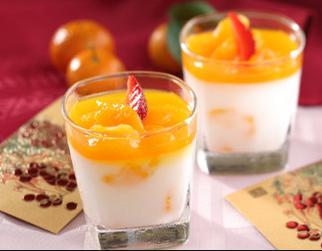 Puding Mangga Yogurt