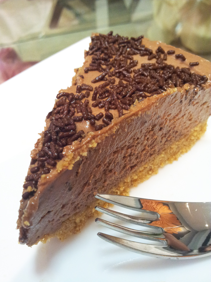 My Humble Kitchen: No Bake Chocolate Cheese Cake