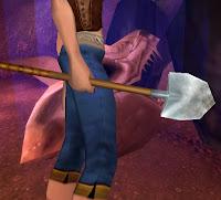 farming the shoveler transmog