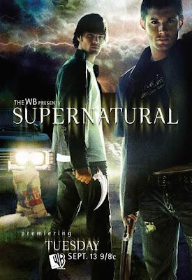 Supernatural TV Series poster cover