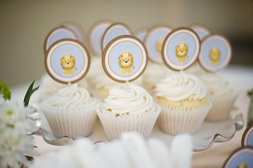 Karas Party Ideas Vintage Lion 1st Birthday Party