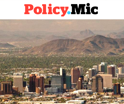 Image of Phoenix skyline, Policy.Mic header