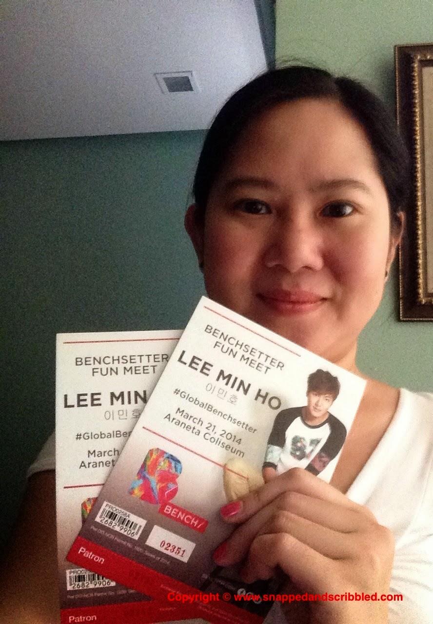 Lee Min Ho Benchsetter Fun Meet