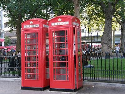 cabinas telefono Londres