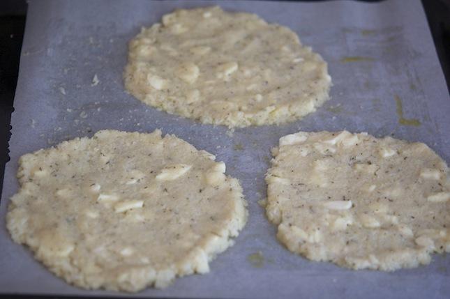 Cauliflower Crust Discs