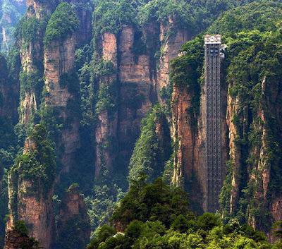 tallest elevator - bailong elevator