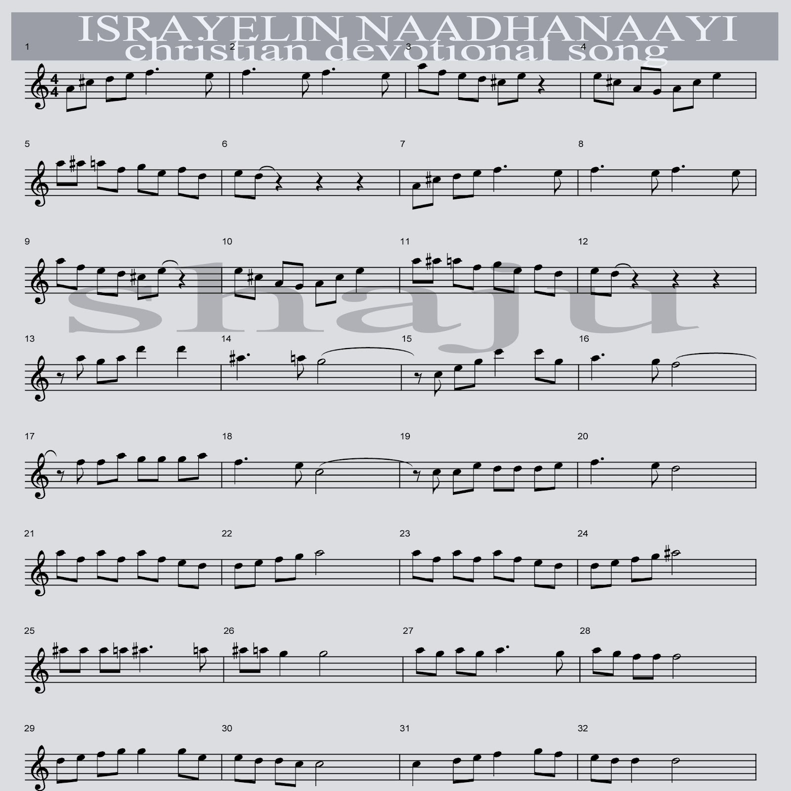 Guitar Sheet Music For Hindi Songs