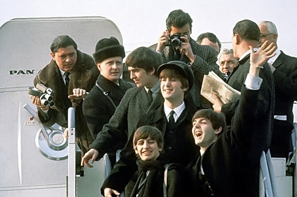 Beatles Land at Kennedy