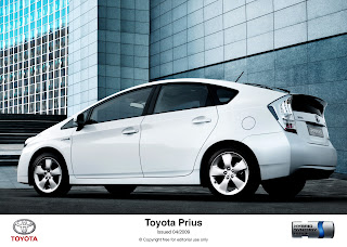 Toyota Prius Hybrit Energy Car Ads HD Wallpaper