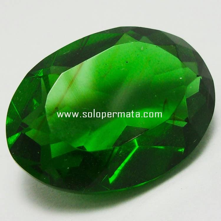 Batu Permata Green Tektite - 13B05