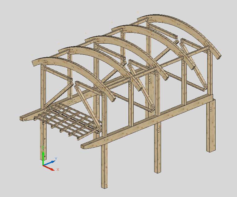 Timber Frame Engineer: Glulam Frame