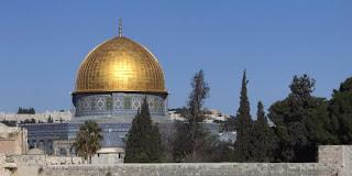 Israel Bikin iklan Masjid Kubah Batu Hancur Ganti Kuil Sulaiman