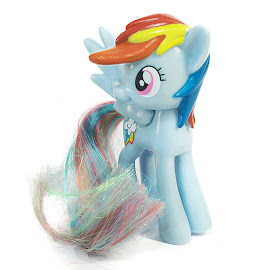 MLP Happy Meal Toy Rainbow Dash Figure by Quick