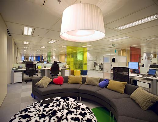 Google office design and furniture home and office for Office design google