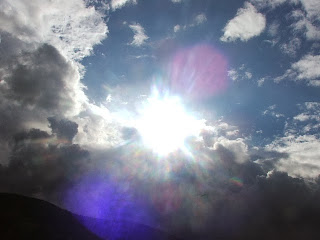 sky, sun, cloud