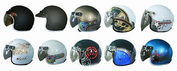 Helm retro cargloss