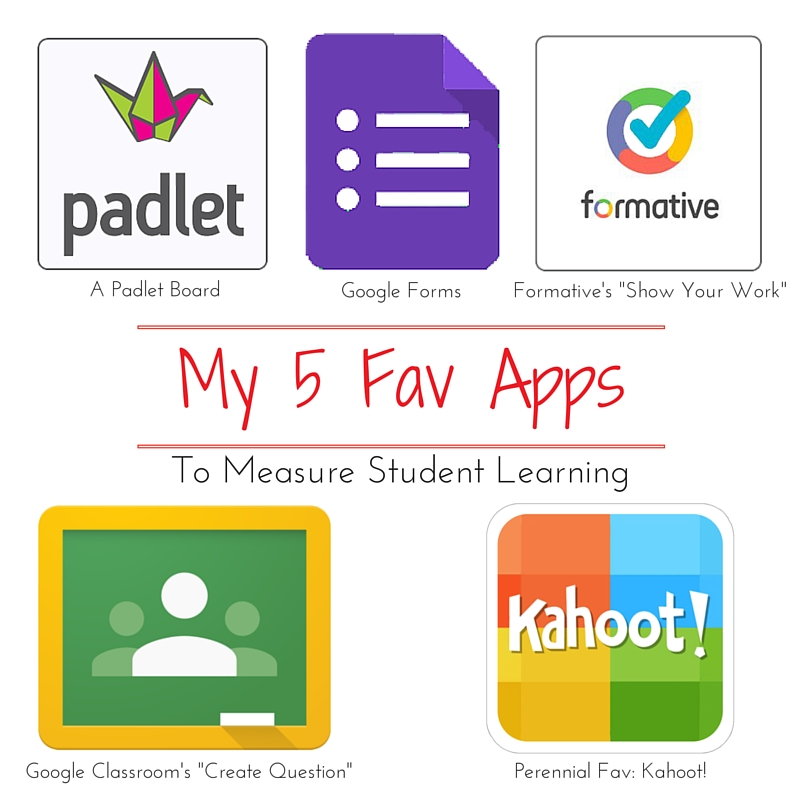 My Top  Favorite Apps For Formative Assessment  Powered With