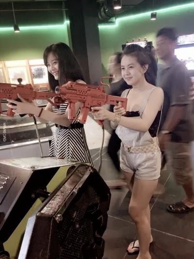 Có ai chơi bắn súng với em không :D - Ảnh Girl Xinh, fan MU hot nhất