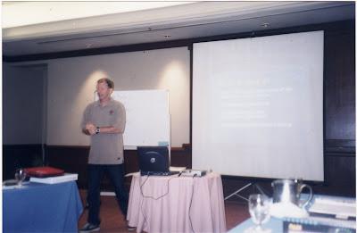 PADI CDTC, April 2003, Kota Kinabulu, Malaysia, presentation