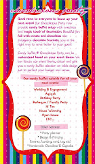 All inclusive package at Chocolicious Party