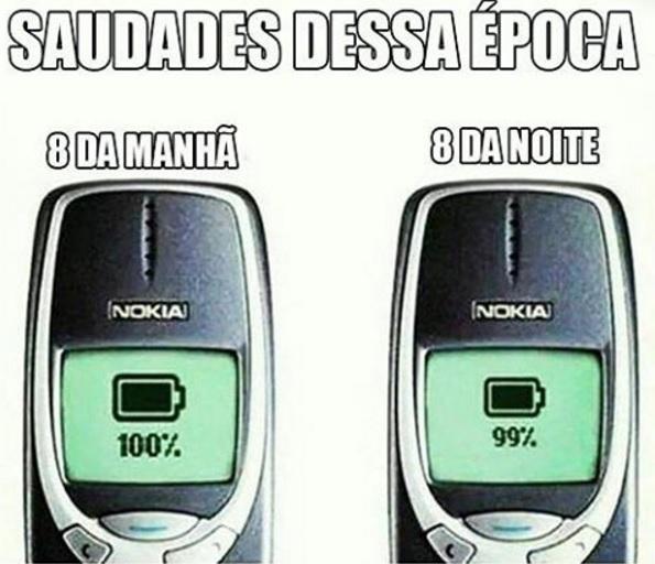 uso bateria celulares antigos