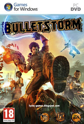 Bulletstorm PC Cover