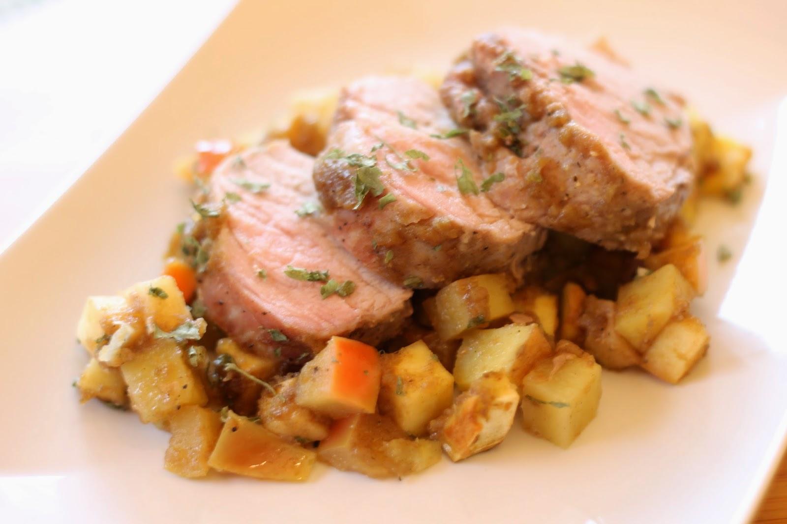 how to cook a 4 pound pork roast