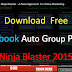Download Free Facebook Auto Group Poster Ninja Blaster 2015