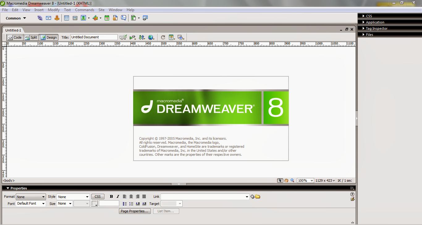 macromedia dreamweaver 8.0 free download