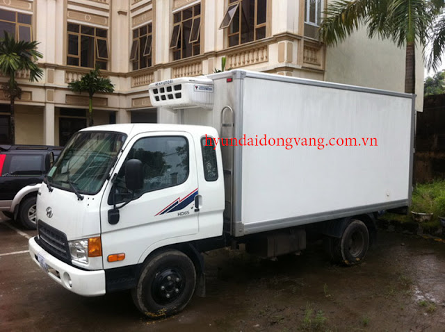 Xe tải hyundai hd65 thùng đông lanh