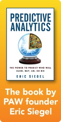 Siegel's Book:  Predictive Analytics