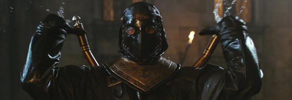 Máscara de buceo usada por los Mosqueteros