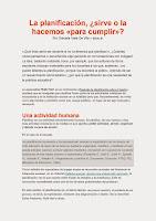 Educ-ar- La plsnificacion sirve o no sirve