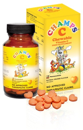 Super Easy Way To Give Your Kids Vitamins Champs Chewable