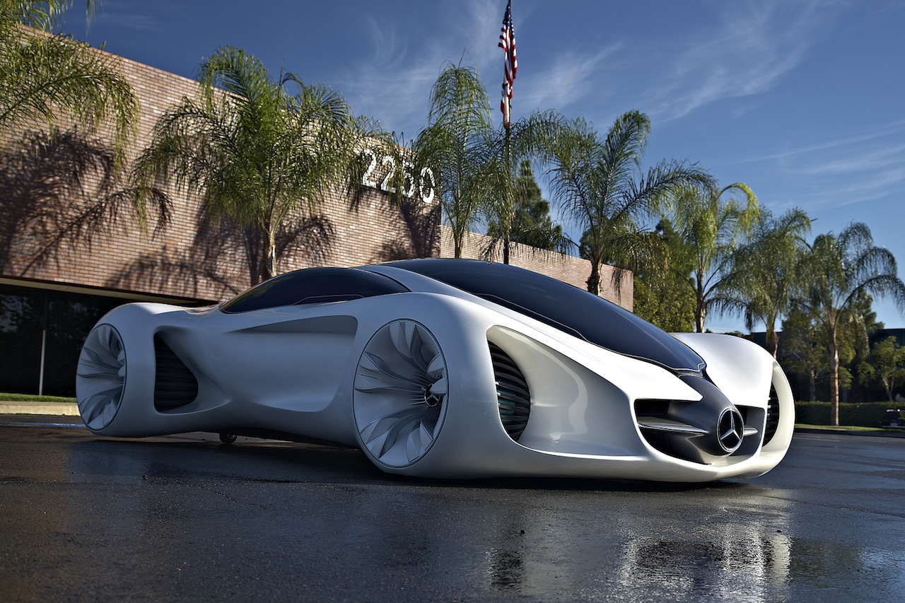 oddcars concept car mercedes benz biome 2013