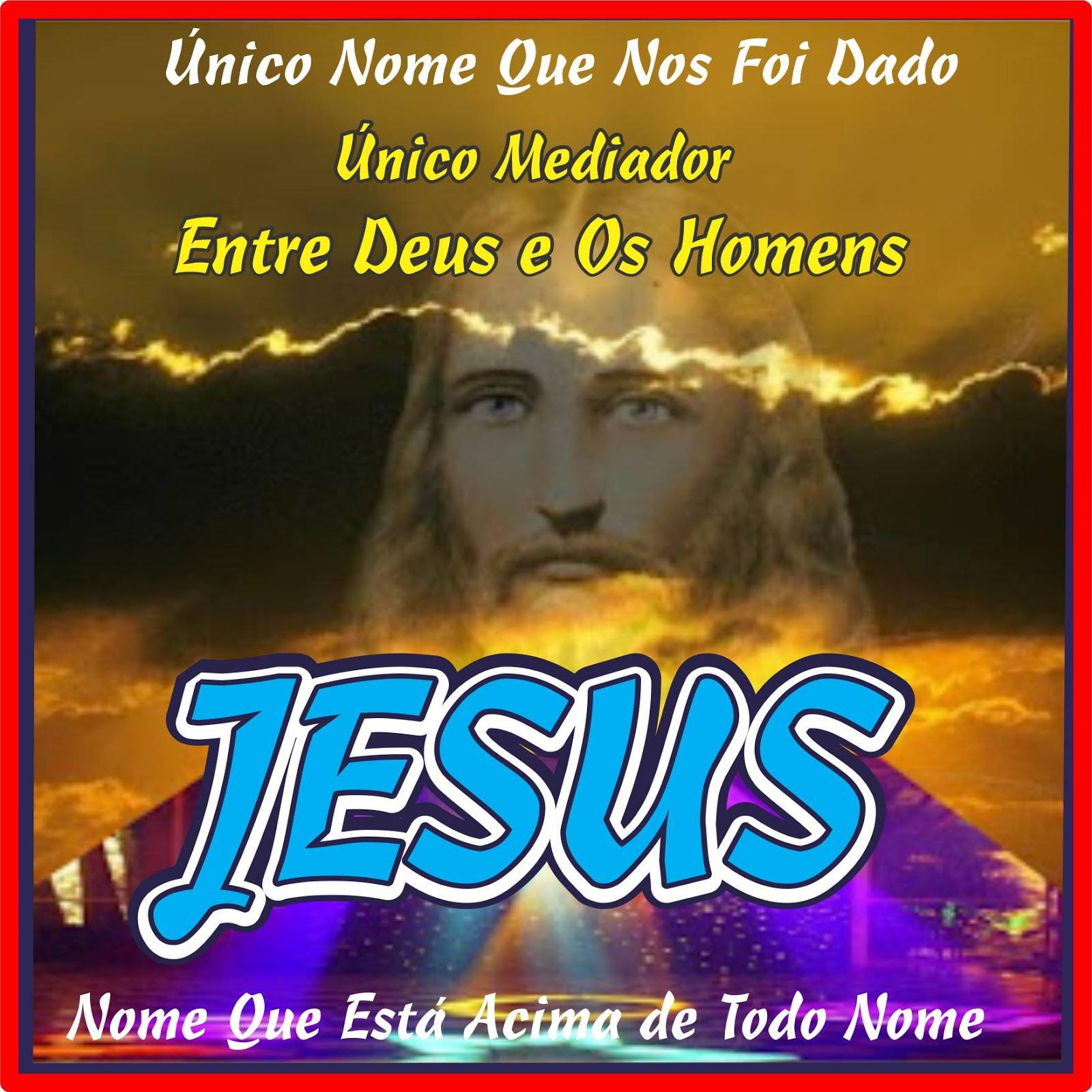 Único Nome Que Nos Foi Dado Pelo Santo Espírito Jesus Cristo Yeshua